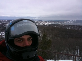 02/16/10 - Me On Mt. Mesnard South of Marquette