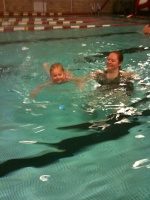 05/11/10 - 2nd Swimming Lesson