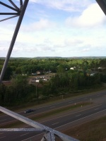 Looking SW towards the Empire Mine from Marquette NWS Radar Tower