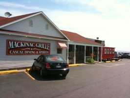 Lunch at the Mackinac Grill