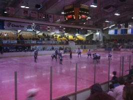 """Paint the Rink Pink"" at Marquette Rangers"