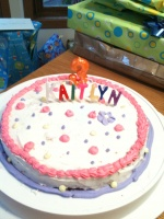 Cake #1 (actual 3rd Birthday)