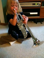 Trumpet Player Kaitlyn