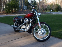 Harley Sportster - May 3, 2011