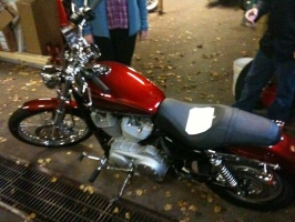 Pictures of Steve's Harley