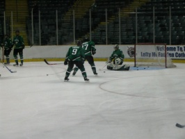 UND Hockey in Dayton, OH - Oct 2005