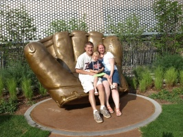 Family on the Gold Glove