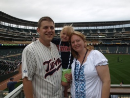 Family at Target Field