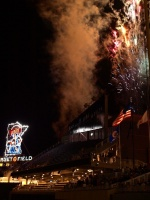 Fireworks and the Twins Logo