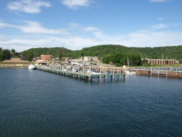 Leaving the Munising Docks