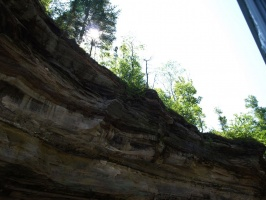Near the cliffs at Pictured Rocks National Lakeshore