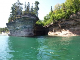 Cavern at Pictured Rocks National Lakeshore