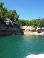 Rocks at Pictured Rocks National Lakeshore