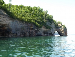 Another archway at Pictured Rocks National Lakeshore