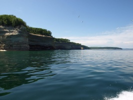 Several Rock Points at Pictured Rocks National Lakeshore