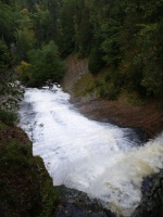 UP - Waterfall and Waves - Sept 29, 2009