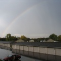 Rainbow to the NW of the Apartment