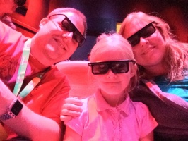 4D movie at Lego Discovery Center