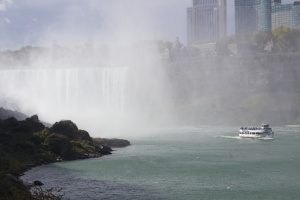 Maid of the Mist and the Horseshoe Falls