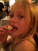 Eating a Quail Egg