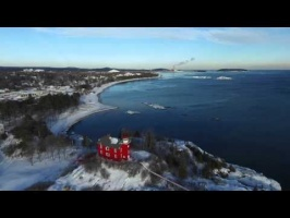 Marquette Lighthouse - Jan 23, 2016 - Pure Michigan Music
